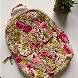 vera bradley make me blush floral backpack